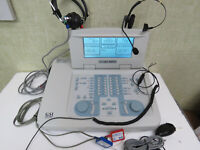 Grason-Stadler GSI 61 Audiometer for testing hearing + Accessories - Great Shape