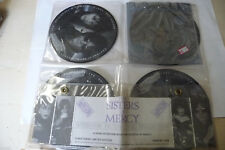 "SISTERS OF MERCY""A RARE INTERVIEW-NR 4 DISCHI 45 GIRI UK-LIMITED EDITION/RARE"