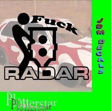 FUCK radar Blitzer JDM Sticker Adesivo OEM PS Power Fun like Shocker