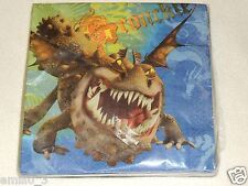 NEW HOW TO TRAIN YOUR DRAGON LUNCHEON  NAPKINS  PARTY SUPPLIES