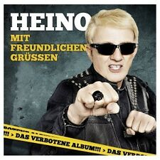 HEINO - MIT FREUNDLICHEN GRÜßEN  CD  12 TRACKS DEUTSCH-POP  NEUF