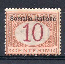 1909 SOMALIA SEGNATASSE 10 CENTESIMI INTEGRO MNH D/4770