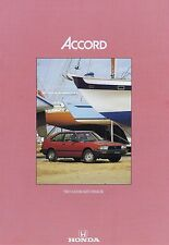 1983 HONDA Accord  Two Door Hatchback - 4 Page Car Brochure - NOS