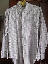 "Long Sleeve Check Shirt ~ Size 17"" Collar"