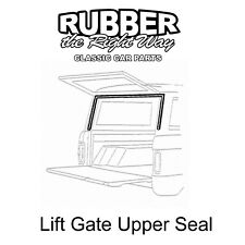 1966 1967 1968 Ford Bronco Liftgate Upper Seal