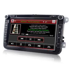 DVD GPS Autoradio für VW PASSAT TIGUAN GOLF 5 6 TOURAN Sharan POLO Caddy SEAT T5