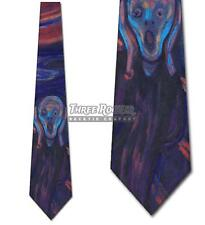 The Scream Tie Munch Neckties Mens Art Neck Ties Brand New