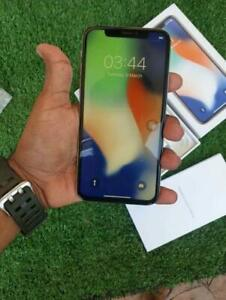Used Apple iPhone X 256GB Rom - 4GB Ram - White Color - Unlocked