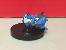 Pokemon Rumble Wii U Lucario Figure NFC Small Nintendo Broken