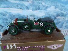 1/43 Brumm (Italy)  Bentley 1932  #114
