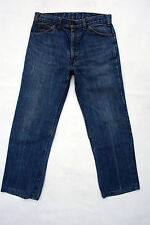 LEVIS 615 MENS DENIM JEANS STRAIGHT LEG SIZE W32 L26 Blue Cotton Orange Tab