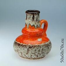 Handled Vase Jopeko 402-21 H=21 cm 60er Jahre/60s - WGP - Fat Lava #289