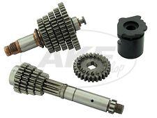 5-Gang Getriebe komplett, lang, mit optimierter Ziehkeilwelle - für Simson S51,