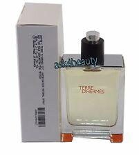 Terre D'hermes TSTR  by Hermes 3.3oz/100ml Edt Spray For Men  NITB