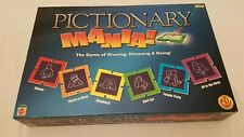 Pictionary Mania Board Game Mattel Games 2005 . Complete