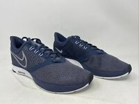 Nike Men's Zoom Strike Running Shoe Blue/White Size 9M US