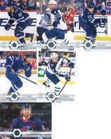 2019-20 Upper Deck Series 2 Winnipeg Jets Team Set of 6 Cards