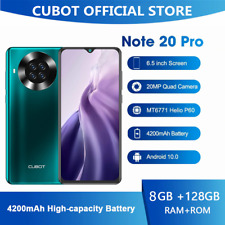 CUBOT NOTE 20 PRO 8GB+128GB Smartphone 4G Android 10 Handy Face ID NFC Dual SIM