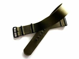 NATO G10 Prem Ballistic PVD MoD RAF Military watch band strap Bonded IW SUISSE