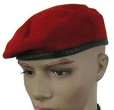 GERMAN ARMY BUNDESWEHR RED BERET (select size required)