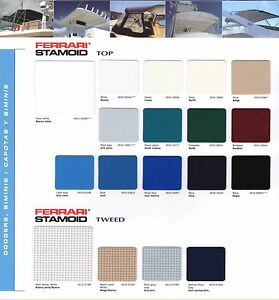 """Stamoid Top Fabric 80"""" 10 YARDS  TOP AND COVER MARINE BOAT QUALITY MATERIAL"""