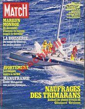 Paris Match n°1562 du 04/05/1979 Trimaran Kersauson Islam Marilyn Tchad