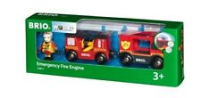 BRIO 33811 Emergency Fire Engine. Brand new. Free Post with tracking