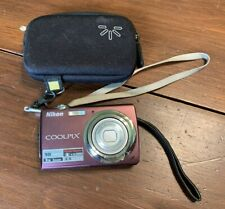 Nikon Coolpix S220 Point and Shoot Digital Camera