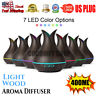 400ML LED Air Aroma Humidifier Ultrasonic Aromatherapy Essential Oil Diffuser