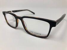 2624acc5cb Ted Baker London TB804 Black Eyeglass Optical Frames 53 17 140 Flex Hinge  CS43