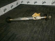 HONDA MTX125 R  1986-94  rear swingarm spinlde caps & nut