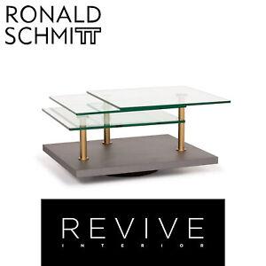 Ronald Schmitt K505 Glass Table Grey Coffee Table #14301