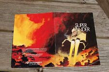 Commodore Vic 20 Super Lander Instructions only