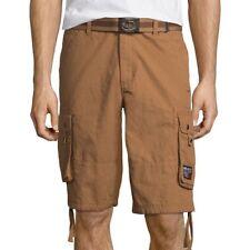 Ecko Unltd Ripstop Cargo Shorts Size 32, 38 New Coffee Msrp $50.00
