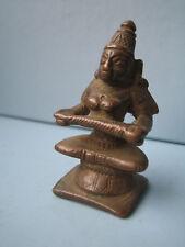 Anapurna anapourna diosa de los alimentos estatua de bronce india india Antik