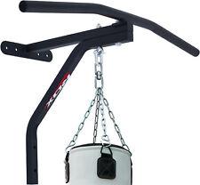 RDX Chin Pull Up Bars Punching Heavy Bag Wall Mount Bracket MMA Training Fitness