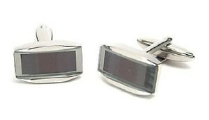 Cuff Links 316L Surgical Steel Shiny