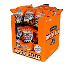 POPCORN BALLS!  24 per case - STILL FRESH & DELICIOUS! **NOW $4 off!**