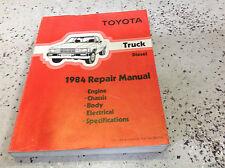1984 Toyota TRUCK DIESEL Service Shop Repair Workshop Manual FACTORY OEM