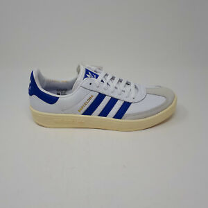 NEW Adidas Barcelona FV1195 City Originals Shoe Sneaker White Blue Mens Size 9.5