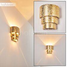 Applique murale dorée Lampe de corridor Lampe de séjour Céramique Spot Up/Down