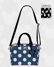Minnie Mouse Blue Denim Loungefly Tote Handbag Purse Bag New w/ tags WDTB1755