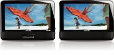 """Philips PD9012M Portable DVD Player 9"""" LCD Dual Screen"""