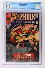 Tales to Astonish #82 - Marvel 1966 CGC 8.5 Iron Man battles Sub-Mariner. Story