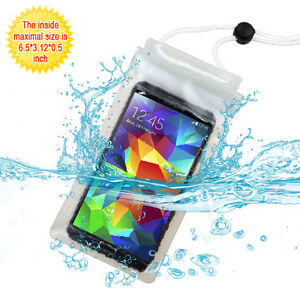 Universal T-Clear Waterproof Pouch (with Lanyard) for iPhone 6/ 7/ 8 & 6/ 7 plus