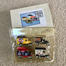Vintage Golden Wheel Diecast Pepsi-Cola 4 Truck Collector Set - GREAT SET!!