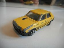 Majorette Fiat Ritmo Abarth 2000 in Yellow