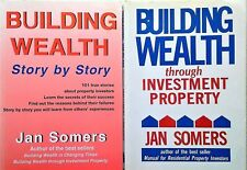 BUILDING WEALTH THROUGH INVESTMENT PROPERTY+ STORY BY STORY Jan Somers - 2 Books