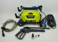 Ryobi RY1419MTVNM 1900 PSI 1.2 GPM Cold Water Wheeled Electric Pressure Washer