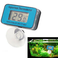 Digital LCD Waterproof Fish Aquarium Water Tank Temperature Thermometer Meter ~